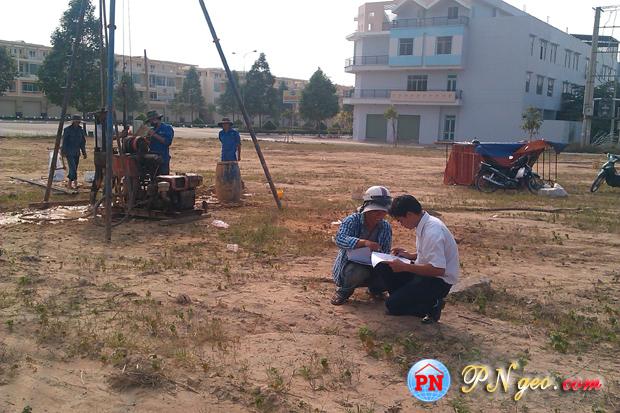 Khoan dia chat | khao sat dia chat KCN Bau Bang - Binh Duong 13