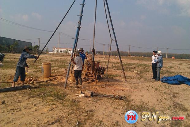 Khoan dia chat | khao sat dia chat KCN Bau Bang - Binh Duong 14