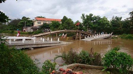 Cầu tại Ấp Phú Thuận A - Tỉnh Vĩnh Long